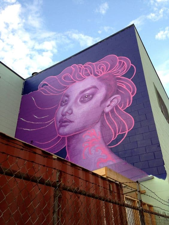 The Create Vancouver Society perpetuates outdoor art by hosting the Vancouver Mural Festival.